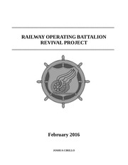 railway operating battalion revival project