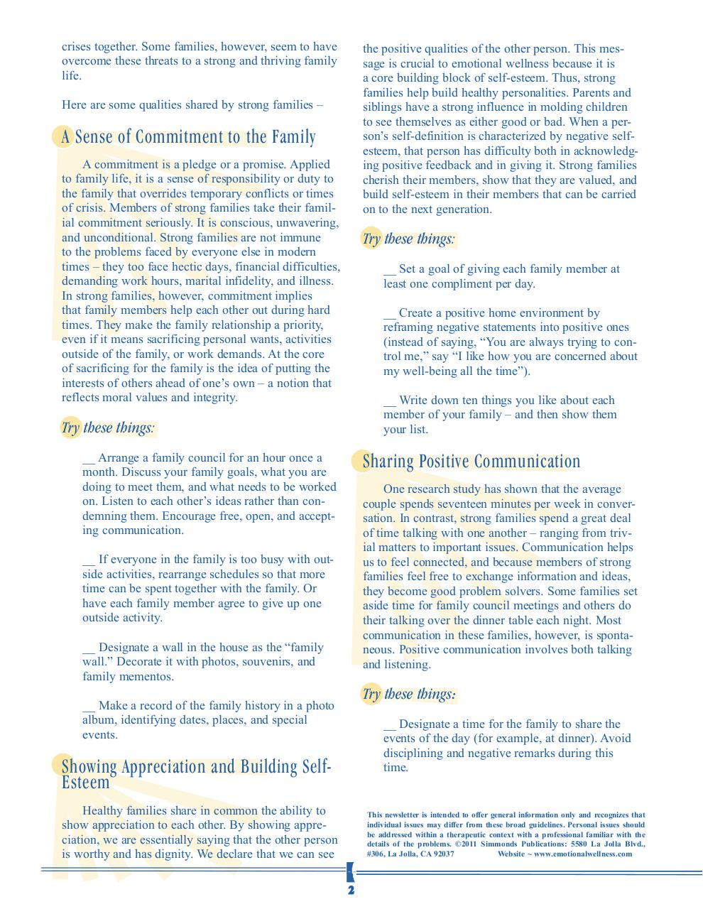 Document preview strong supportive families.pdf - page 2/4
