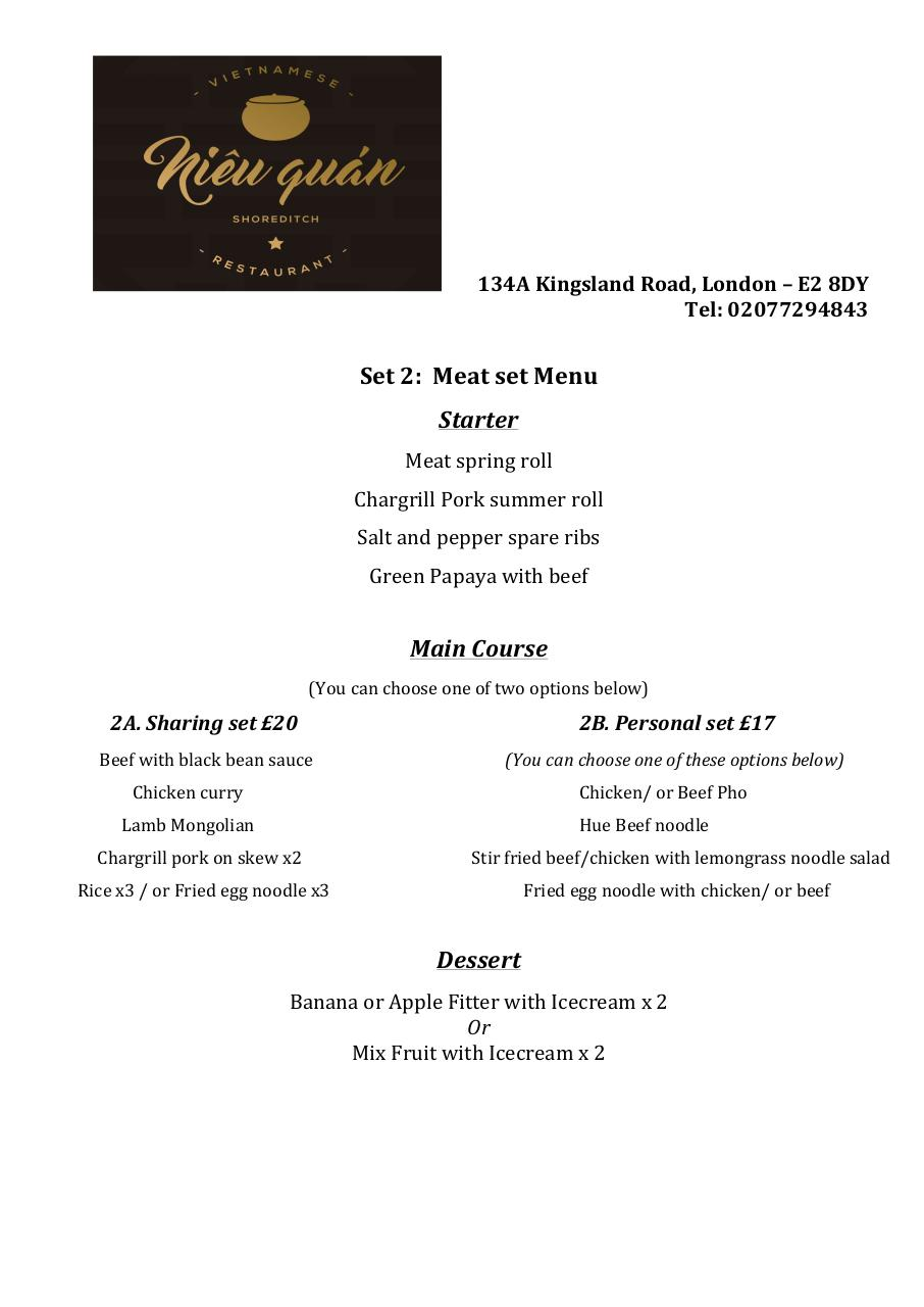 Document preview Set menu for 4 people (1).pdf - page 2/3