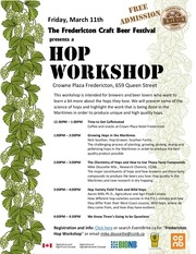 hop workshop poster