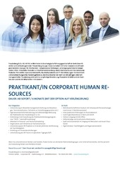 praktikant in corporate human resources freudenberg