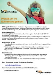 praktikum eventmanagement wirsuperhelden