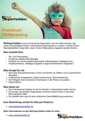 praktikum pr marketing wir superhelden