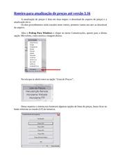 PDF Document roteiro para atualizac o de precos ate 3 16