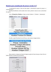 PDF Document roteiro para atualizac o de precos pcdrug 3 17