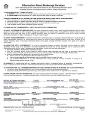 PDF Document information about brokerage services 1 16