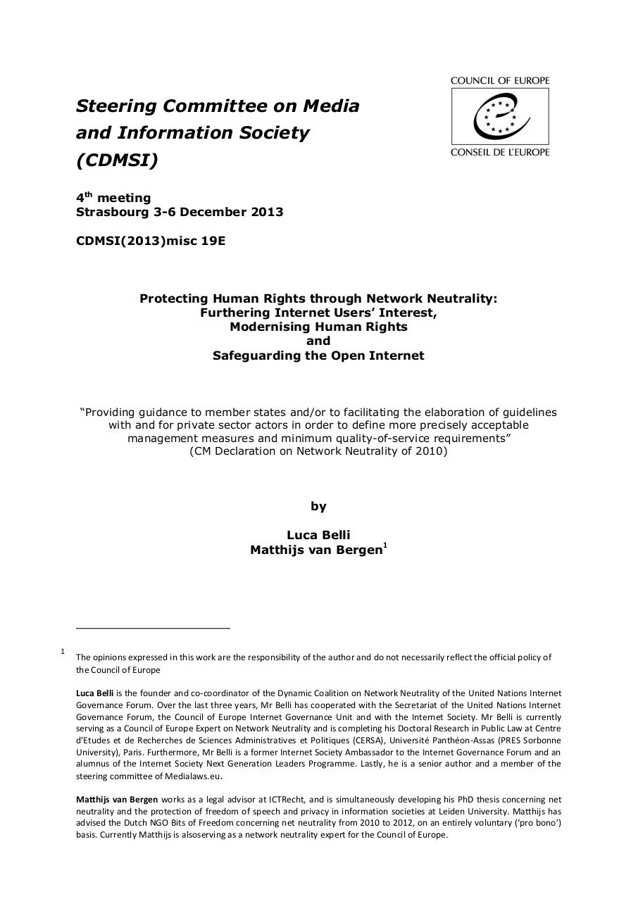 Preview of PDF document report-belli-van-begren-net-neutrality-cdmsi-2013.pdf