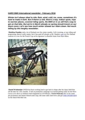 haro bmx international newsletter