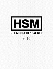 relationship packet