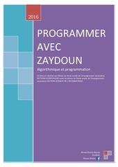 PDF Document programmer avec zaydoun t1