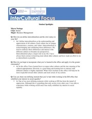 newsletter student spotlight