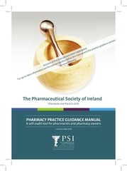 pharmacy practice guidance manual
