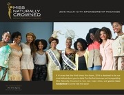 2016 naturally crowned multi city sponsorship package