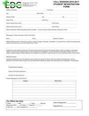 edc fall registration form