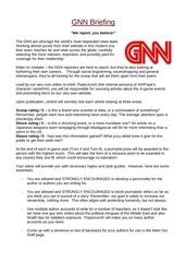 gnn briefing