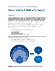 supervision pathways