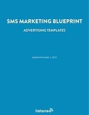 tatango sms advertising template