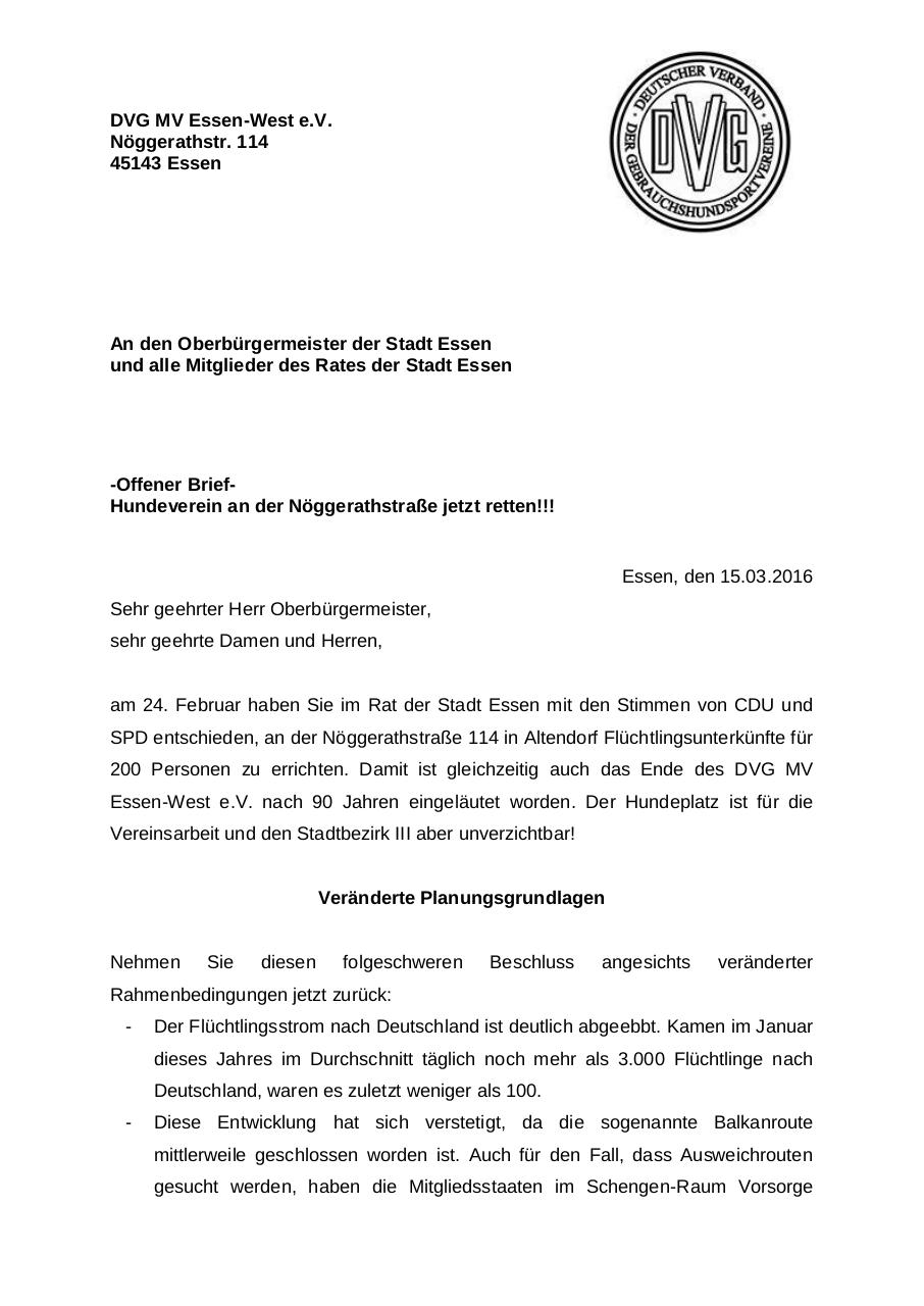 Document preview DVG MV Essen- offener Brief 15.03.2016.pdf - page 1/3