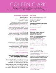 colleen clark resume