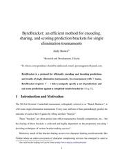 PDF Document bytebracket
