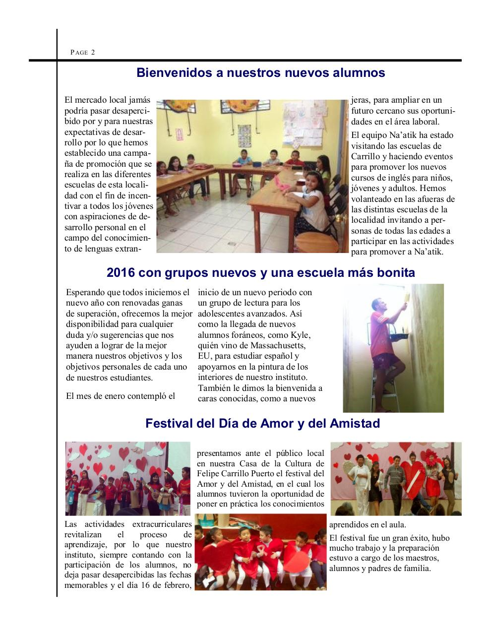 Feb 2016 Internal newsletter.pdf - page 2/4