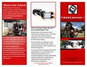 i make movies tri fold brochure
