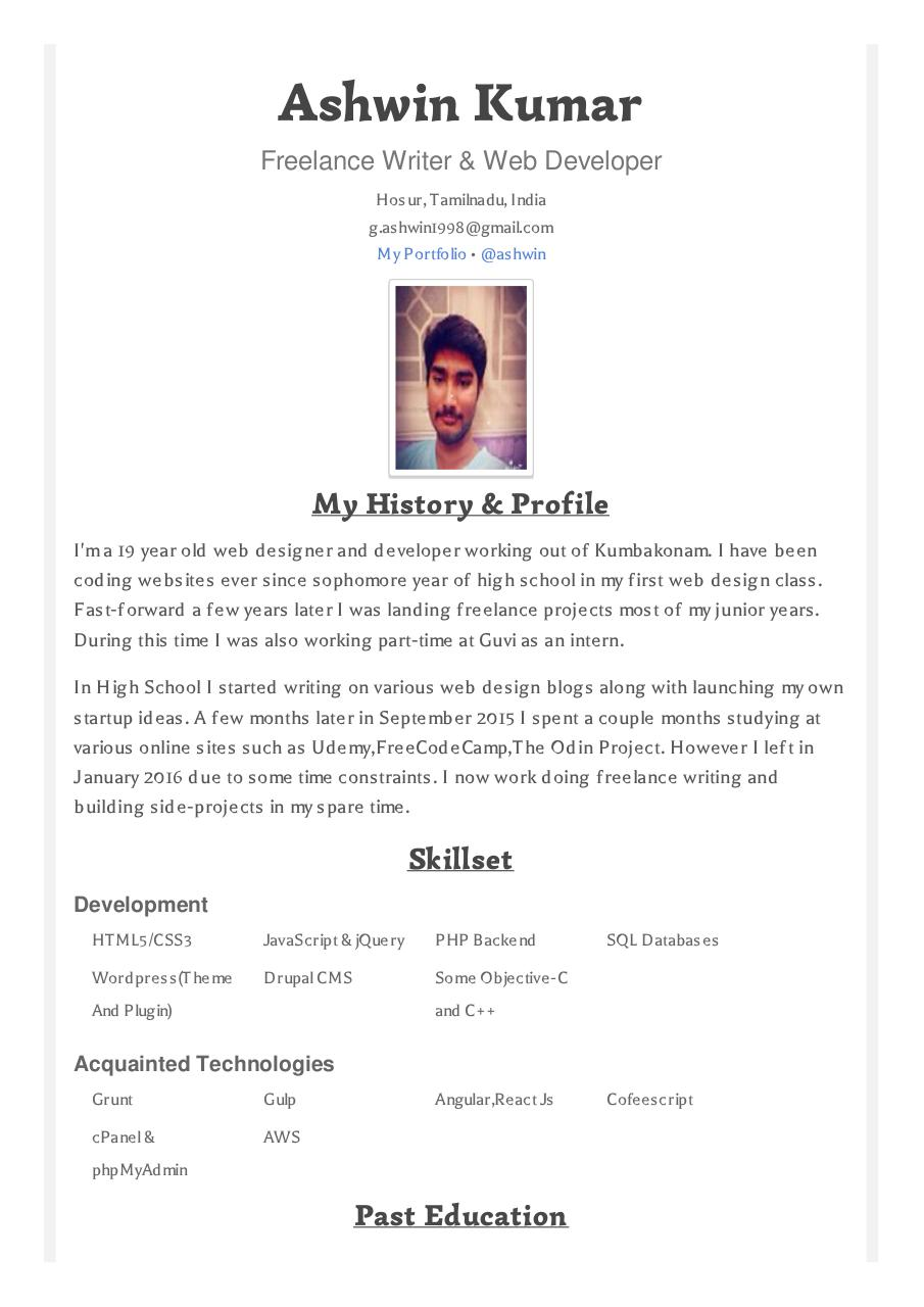 How To Link To Github Projects In A Resume