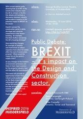 big debate a5 flyer