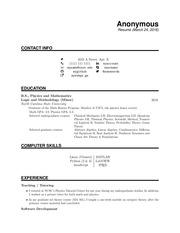 PDF Document resumeanon