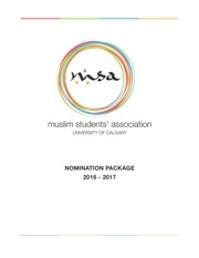 2016 2017 nomination package