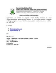 notification svpistm guest faculty posts1