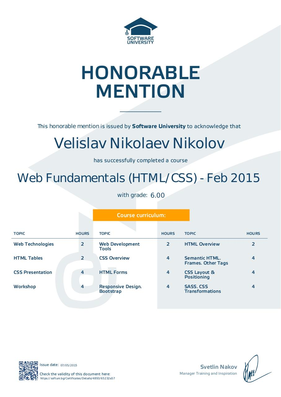 softuni honorable mention - Web-Fundamentals-(HTML-CSS