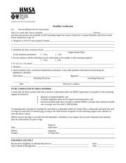 hmsa disability form 1
