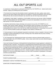 PDF Document waiverform