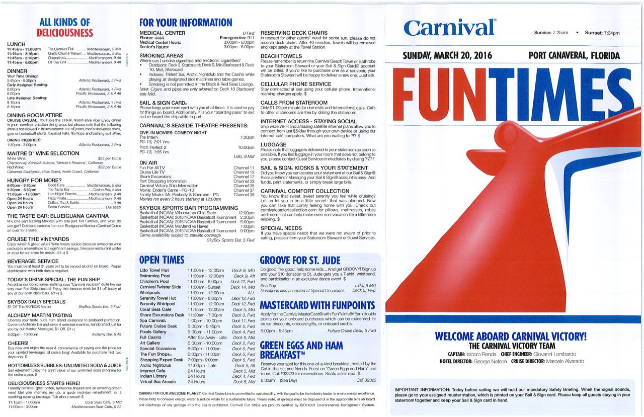 Document preview Carnival Victory 2016-03-20 Fun Times.pdf - page 1/2