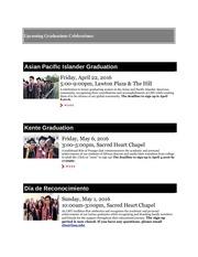upcoming graduations celebrations 3
