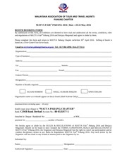 PDF Document booking form mfp 2016 new
