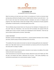 PDF Document cleaning up