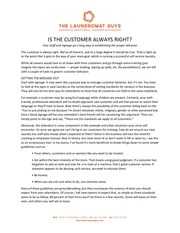 PDF Document is the customer always right