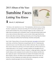 PDF Document sunshine faces