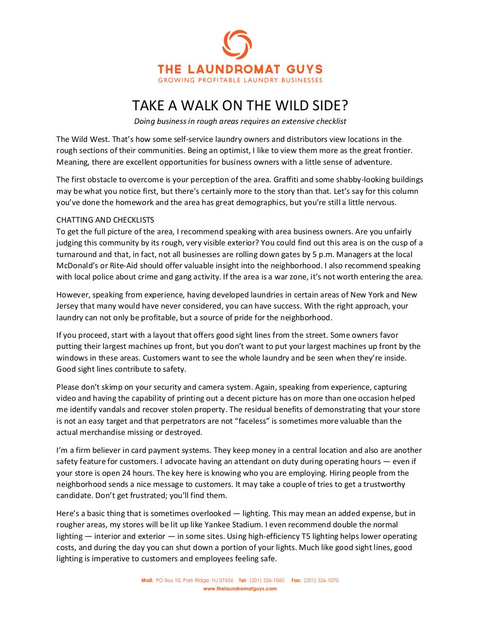 TAKE A WALK ON THE WILD SIDE.pdf - page 1/2