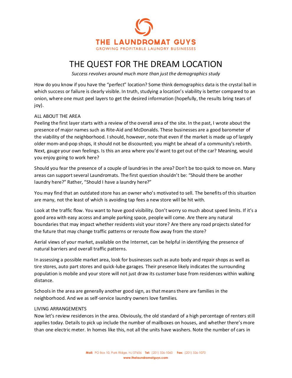 Preview of PDF document the-quest-for-the-dream-location.pdf