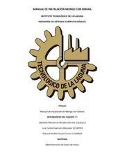 PDF Document manual de instalaci n mongo con debian