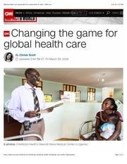oneworld health article on cnn com