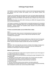 PDF Document x4change project recife projeto