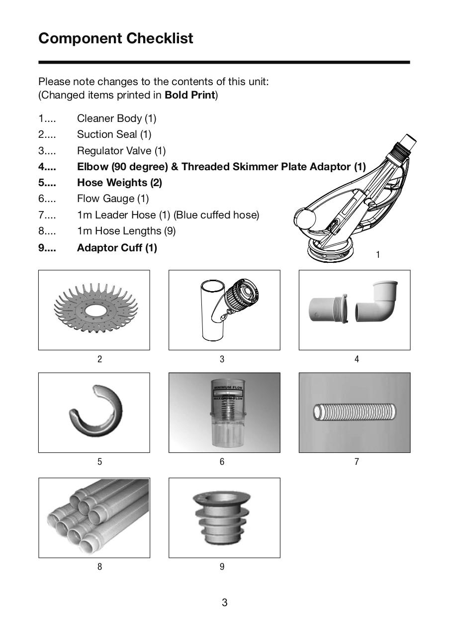 Onga Hammerhead Cleaner Owners Manual.pdf - page 3/16