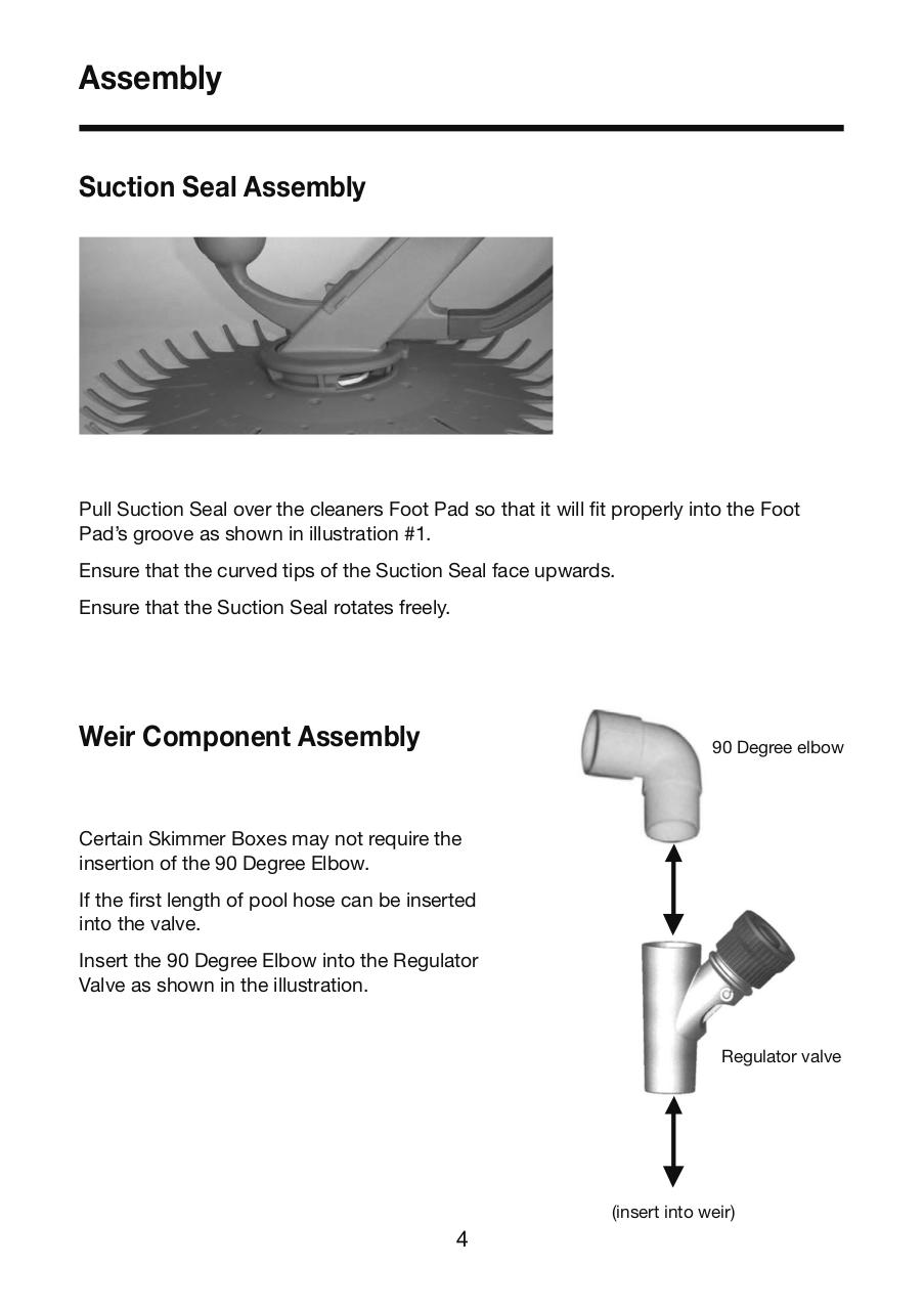 Onga Hammerhead Cleaner Owners Manual.pdf - page 4/16