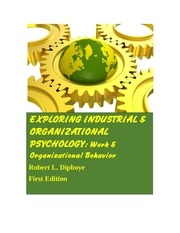 exploring industrial and organizational psychology