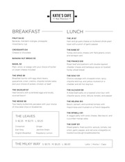 katie s cafe menu