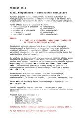 project nr 2 sieci komputerowe